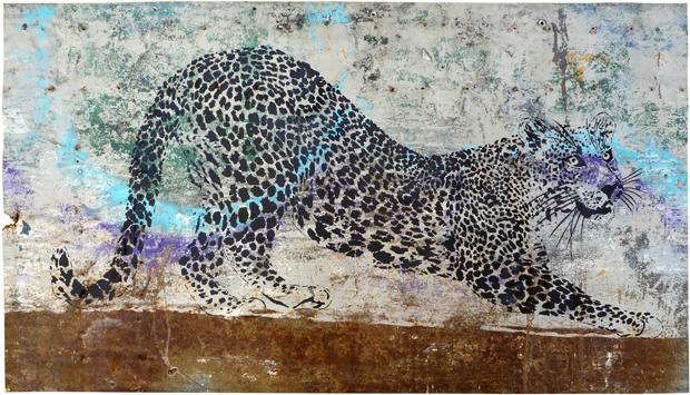 Mosko solo show le cabinet d 39 amateur oeuvres sur for Dans jungle terrible jungle le lion est mort ce soir youtube