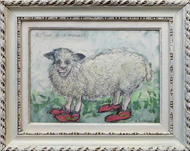 retour la normale dessine moi un mouton 1968 2018 le cabinet d 39 amateur oeuvres sur. Black Bedroom Furniture Sets. Home Design Ideas