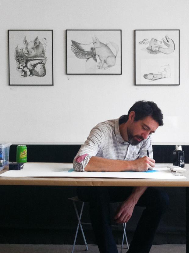 bault le cabinet d 39 amateur oeuvres sur papier peintures dessins multiples d 39 artistes. Black Bedroom Furniture Sets. Home Design Ideas